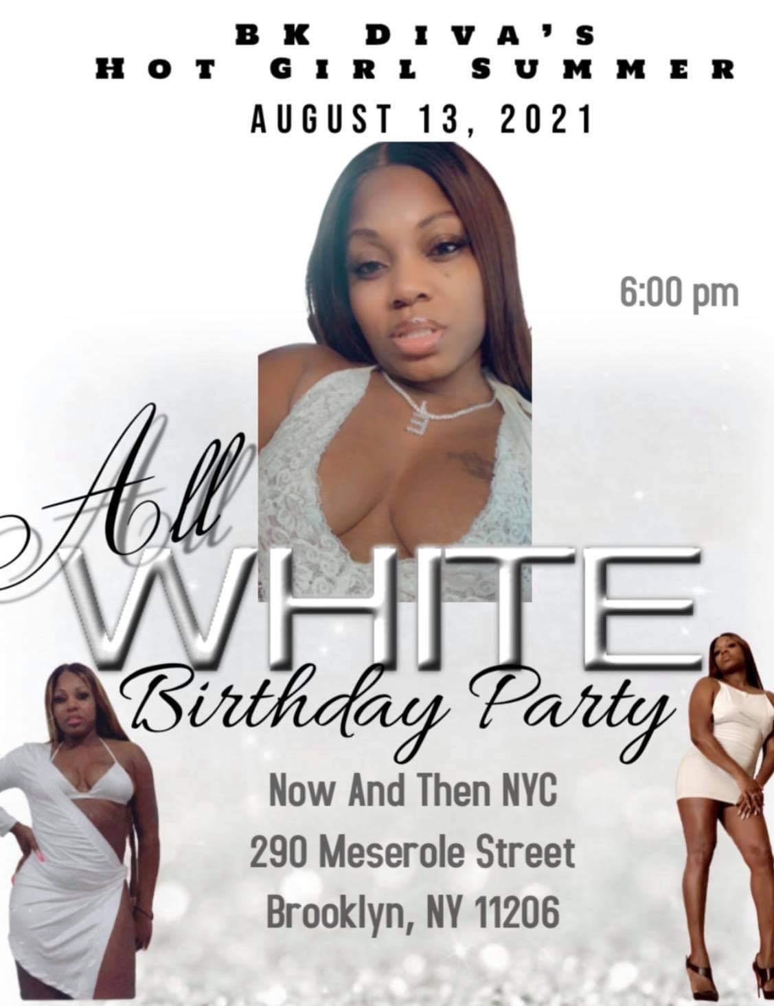 All White B-Day Party